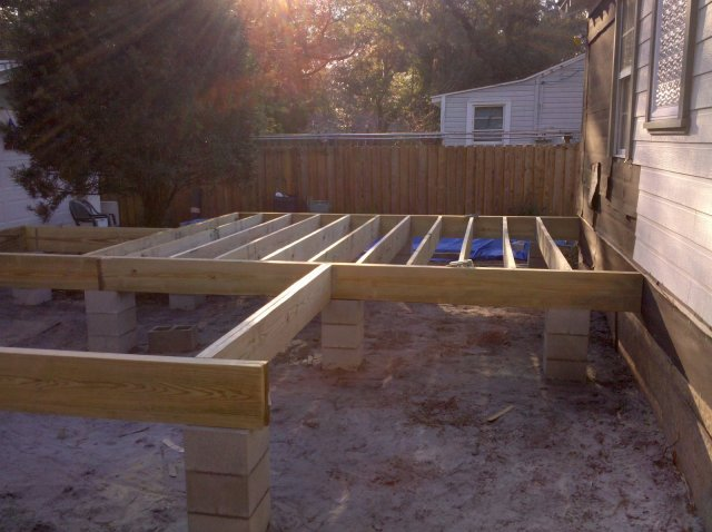 Joists at Sunset