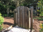 Gate is now all by itself.